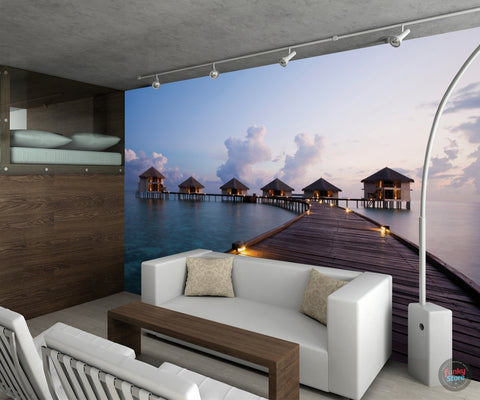MALDIVES DREAM WALL MURAL