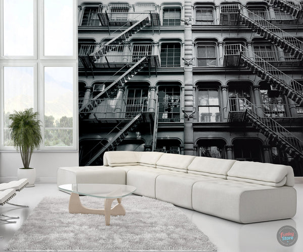 NEW YORK APARTMENTS WALL MURAL