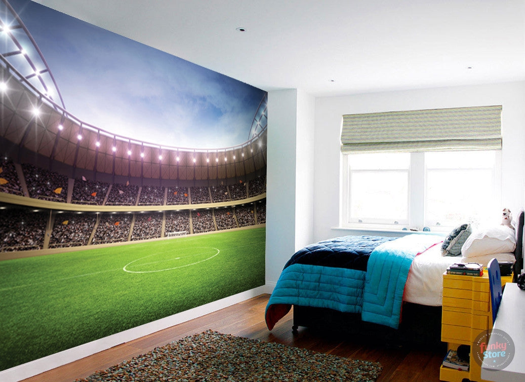 High Quality FOOTBALL STADIUM WALL MURAL Part 32