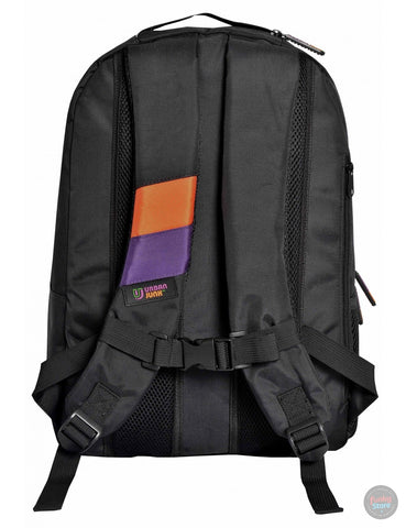 Space Invader Black Backpack