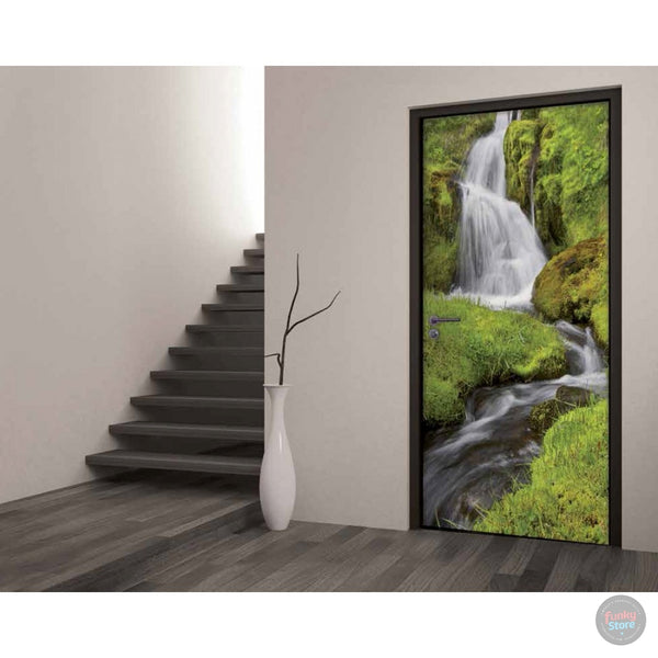 WATERFALL DOOR MURAL