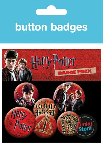 Harry Potter Icon Pack Badge Pack