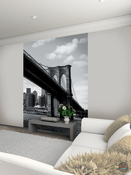 NEW YORK BROOKLYN BRIDGE WALL MURAL