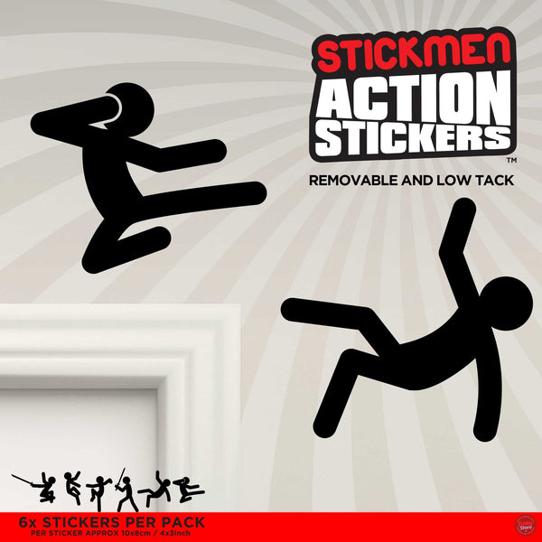 Action Stickers - Stickmen