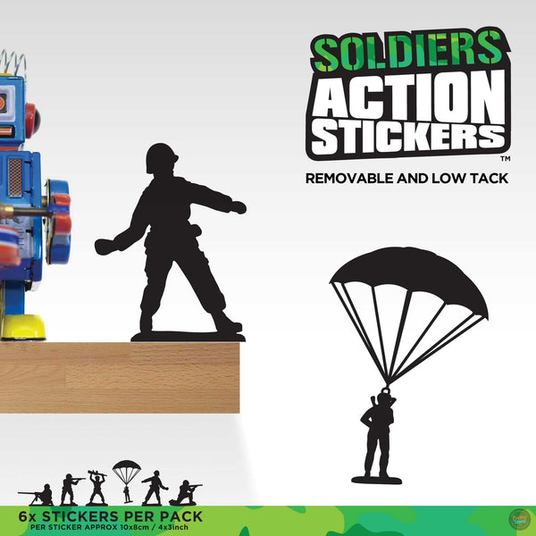 Action Stickers - Soldiers