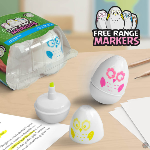 Free Range Markers - Owls
