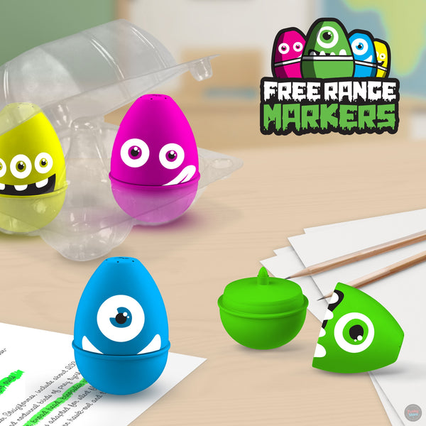 Free Range Markers - Monsters