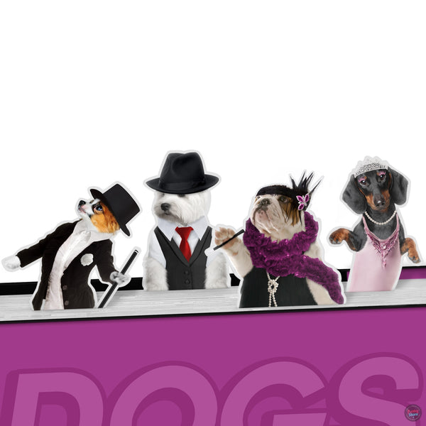 Dancing Dogs Bookmarks