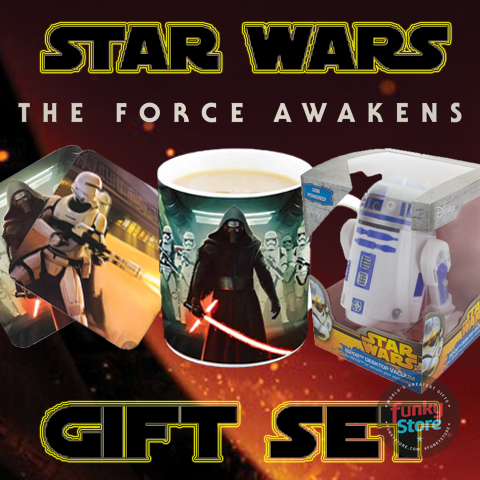 Star Wars The Force Awakens Gift Set- 3 For £20