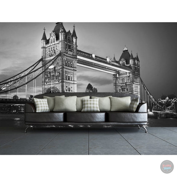 LONDON TOWER BRIDGE WALL MURAL