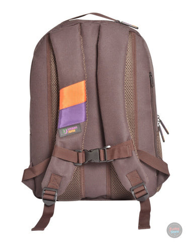 Puzzle Brown Backpack