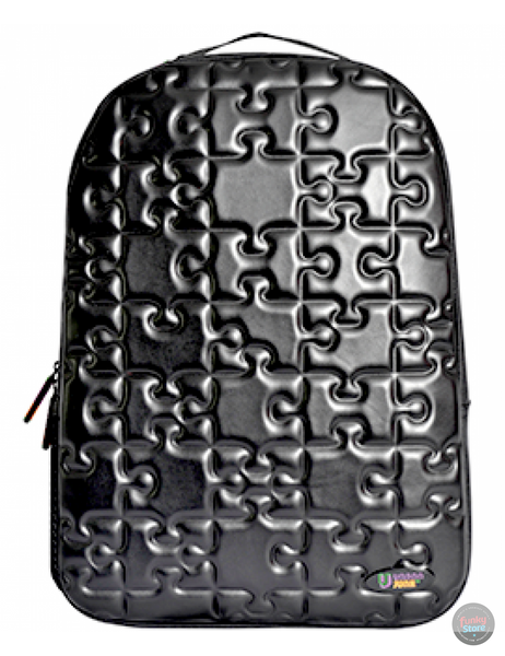 Puzzle Black Backpack