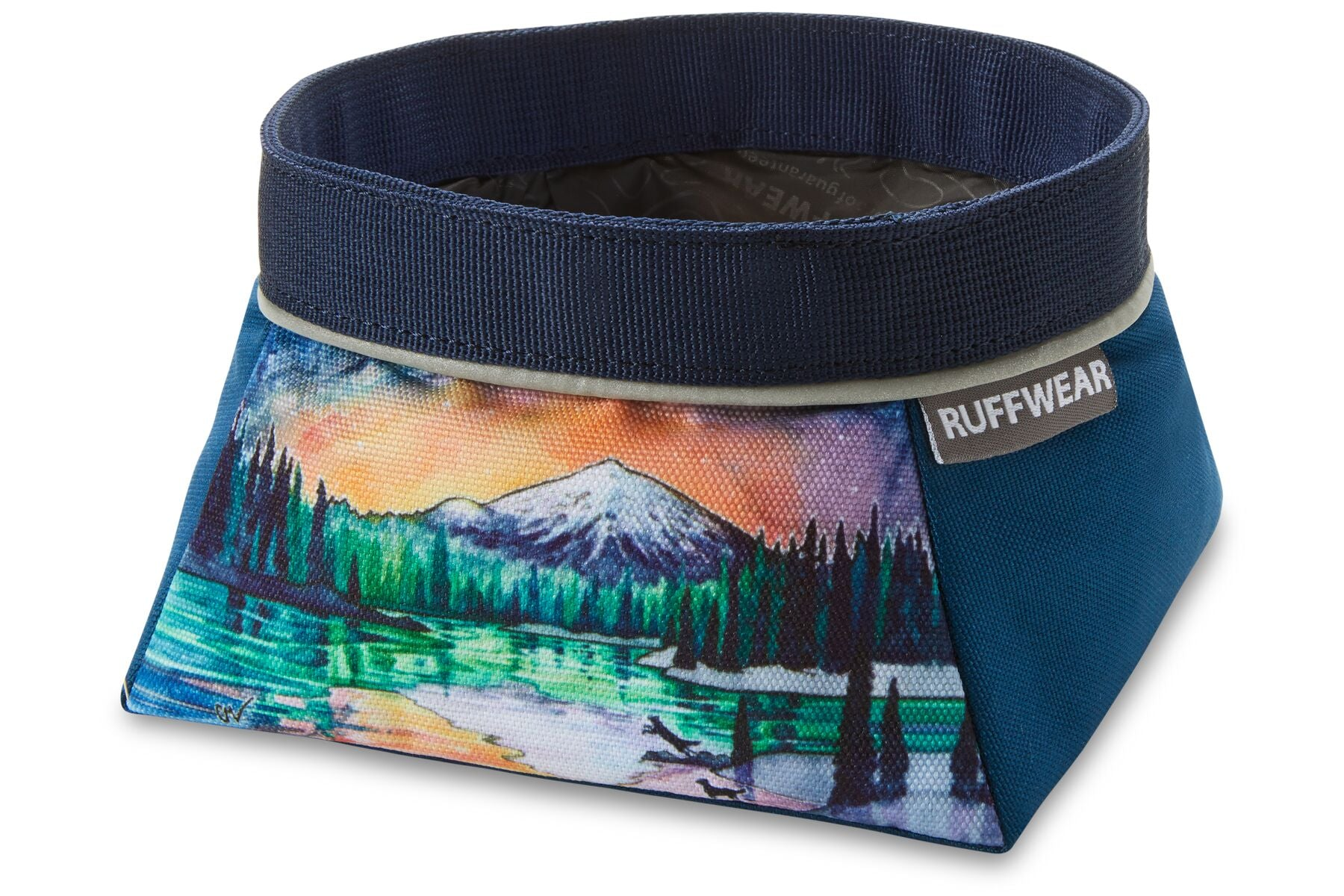 Ruffwear Artist Series Quencher Dog Bowl - Sparks Lake