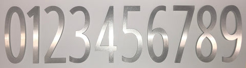 "4"" High Address Numbers(SPA-N001SS)"