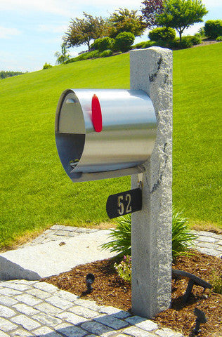 Spira Large Postbox Stainless Spa M001ss Spira Mailbox