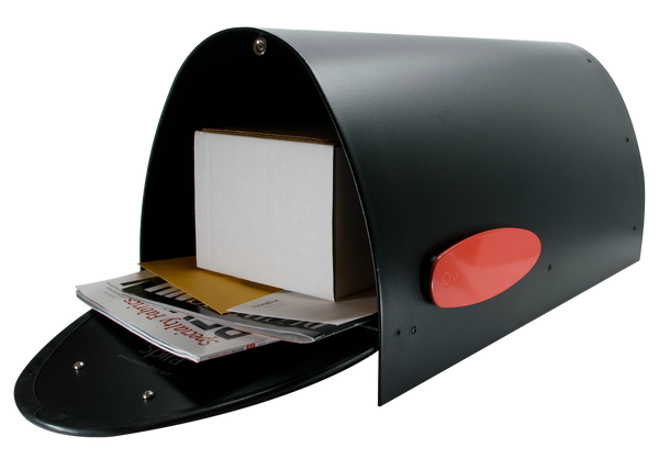 SPA-M006BLK Large Mailbox