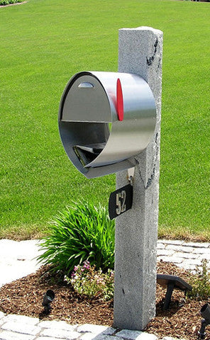 SPA-M001SS Spira Large Mailbox with Bin (back in stock in early December)