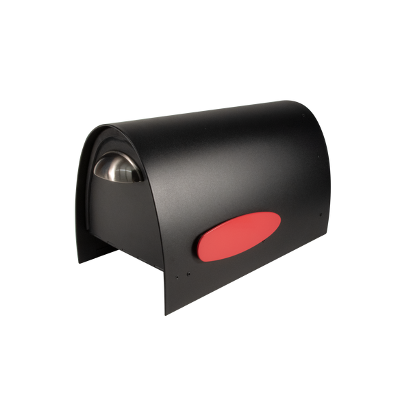 SPA-M005BLK Spira Medium Mailbox