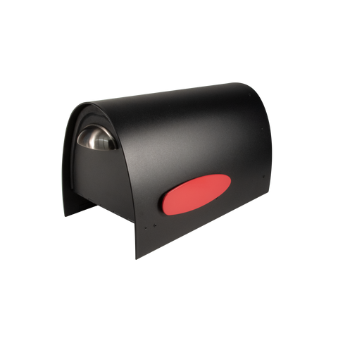 Spira Medium Postbox in Black (SPA-M005BLK)