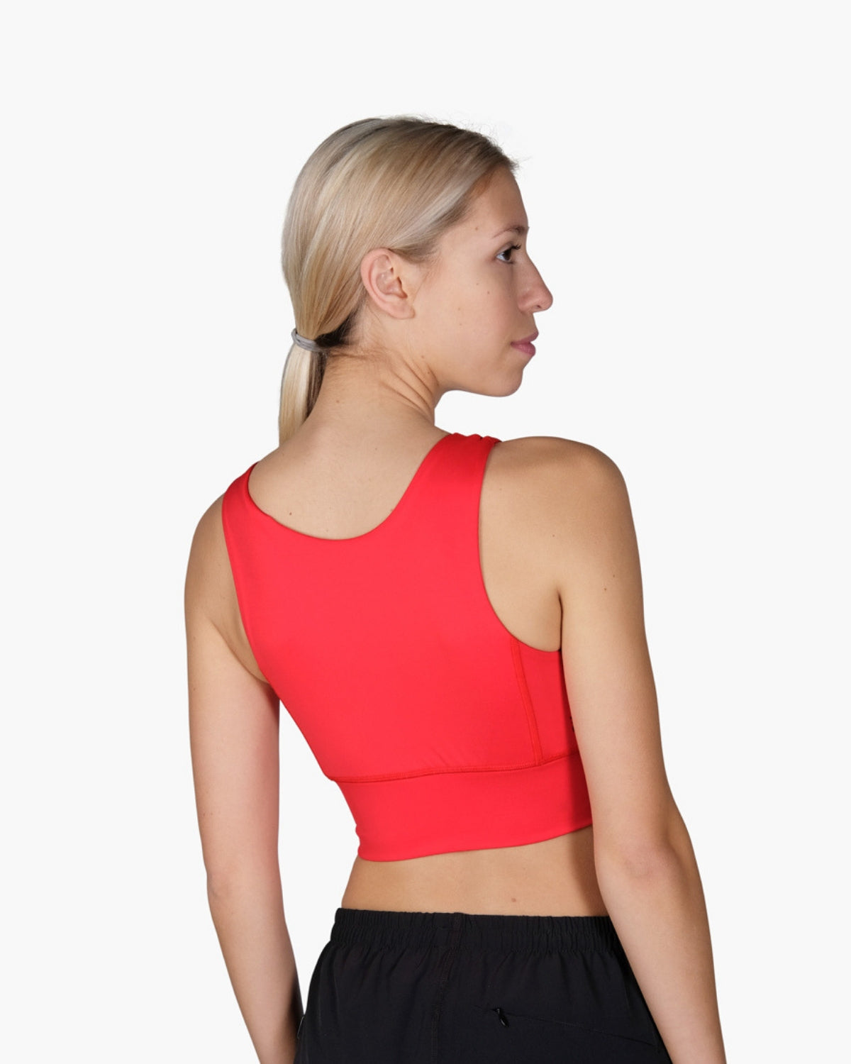 STRIKE MOVEMENT Switch Sports Bra in Red - Reversible