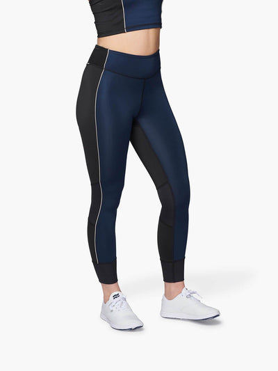 STRIKE MVMNT Bound Tights / Leggings in Navy and Black TechStretch™