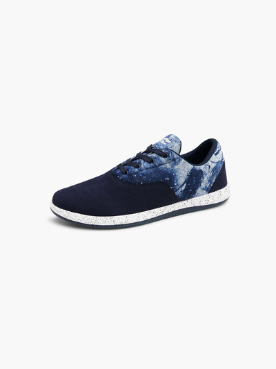 Strike Movement Chill Pill Transit versatile cross-training shoes for broad-spectrum performance in Navy UltraSuede / Space Blue