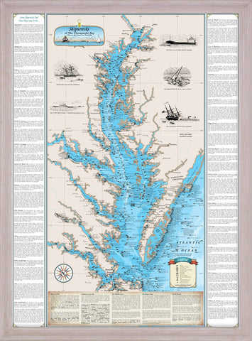 Framed Shipwrecks of the Chesapeake Bay: Havre de Grace to Norfolk