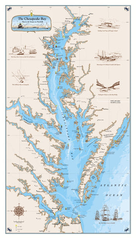 The Original Chesapeake Bay Chart