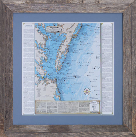 Framed Virginia Shipwrecks: Including the Southern Chesapeake Bay