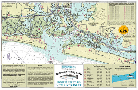 North Carolina: Bogue Inlet to New River Inlet
