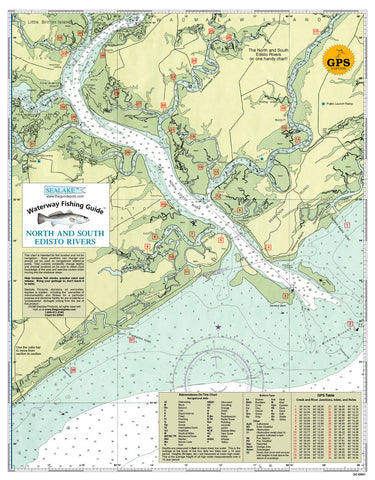 South Carolina: North and South Edisto Rivers