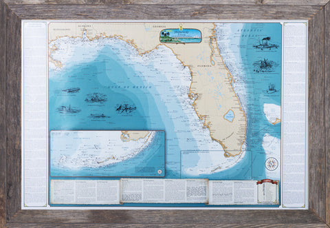 Framed Shipwrecks of Florida and the Eastern Gulf of Mexico