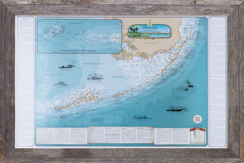 Framed Shipwrecks of the Florida Keys: Soldier Key to the Dry Tortugas