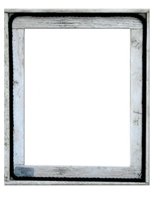 "16"" x 20"" Lobster Trap Wood Picture Frame"