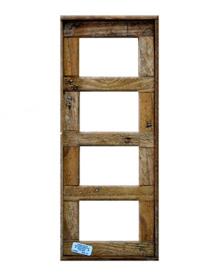 "4"" x 6"" Quad Lobster Trap Wood Picture Frame"