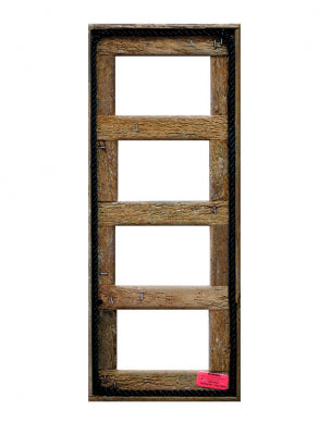"4"" x 6"" Quad Lobster Trap Wood Picture Frame 