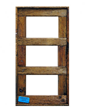 "4"" x 6"" Triple Lobster Trap Wood Picture Frame"