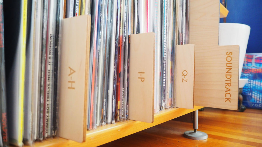 Genre and A-Z Record dividers by Koeppel Design