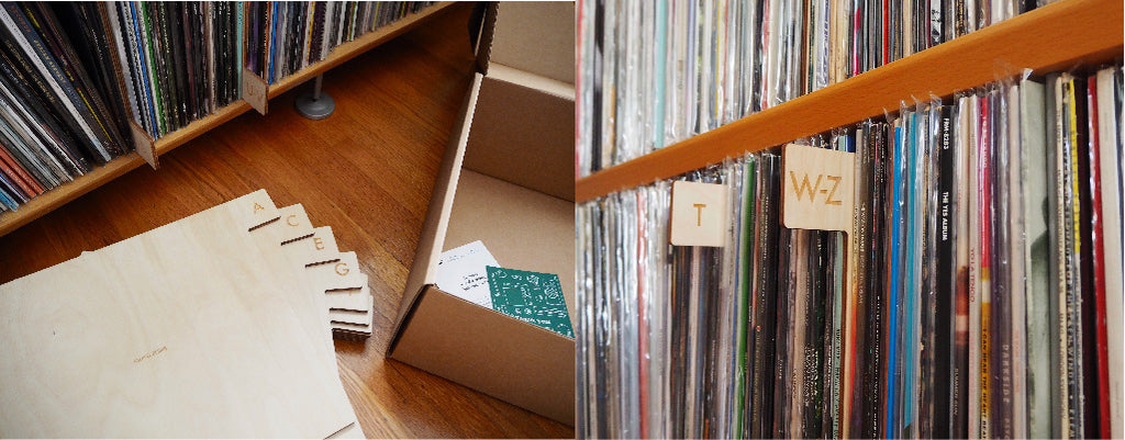 A-Z Record Dividers by Koeppel Design