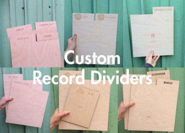 Custom Record Dividers ordering begins Oct 1st!