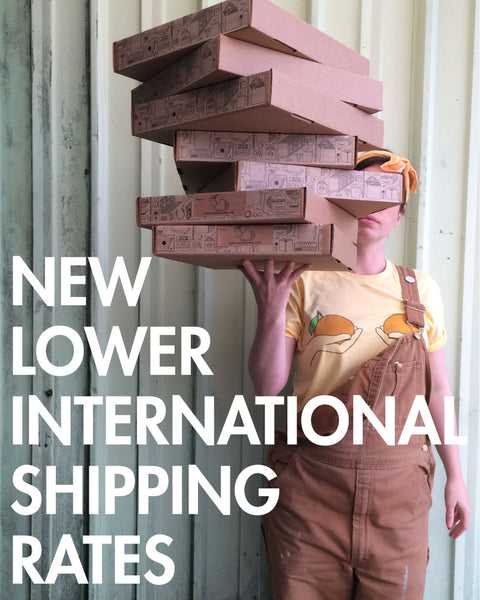 record dividers ship internationally