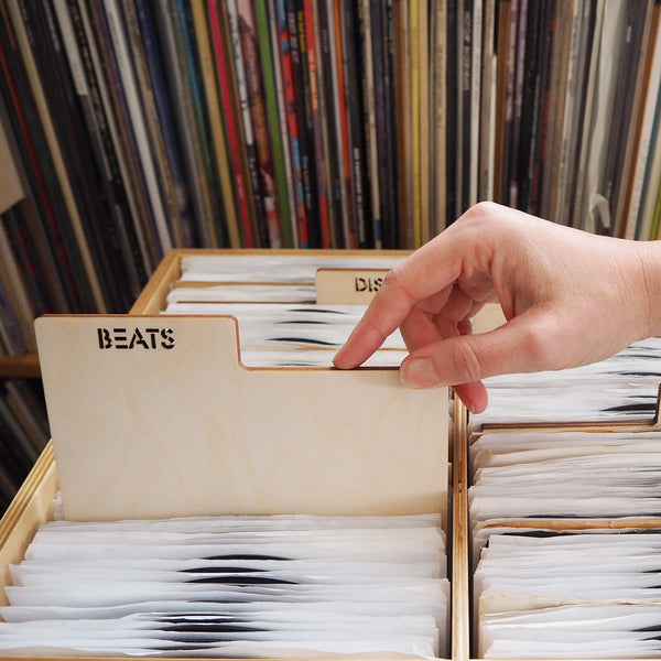 buy or sell 45s or LPs? Use our customizable record dividers to organize vinyl collections.