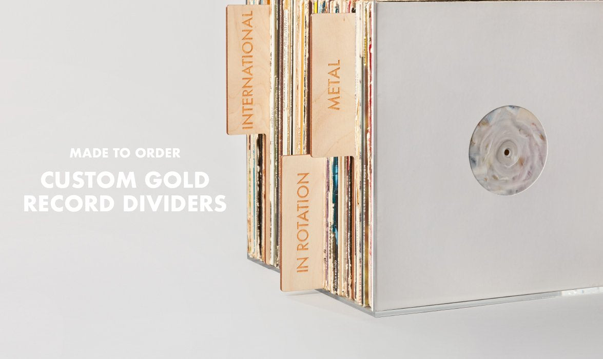 Koeppel Dividers are the best on the market for durable, well made record dividers