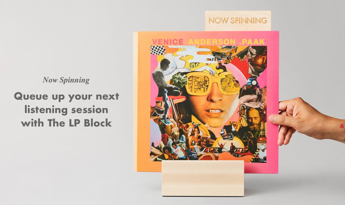 Vinyl storage displays. Show off what's spinning