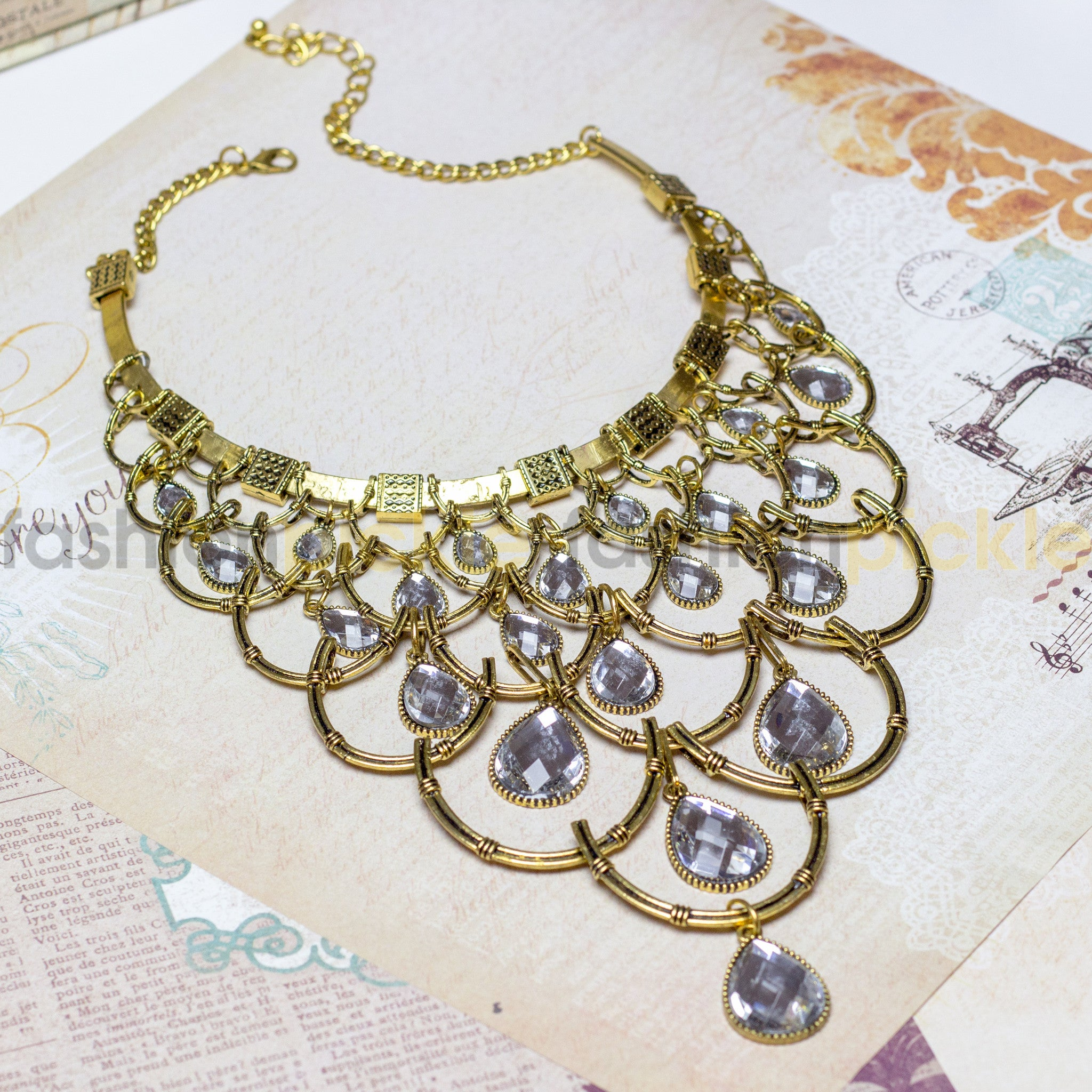 Lugano Statement Necklace