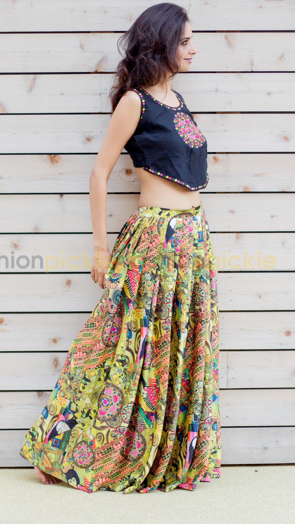 Image result for umbrella skirt with crop top