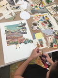 QUIRKY COLLAGE WORKSHOP: APRIL 21st 2018 10am-4pm