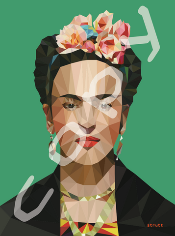 Frida Kahlo Graphic Art Print