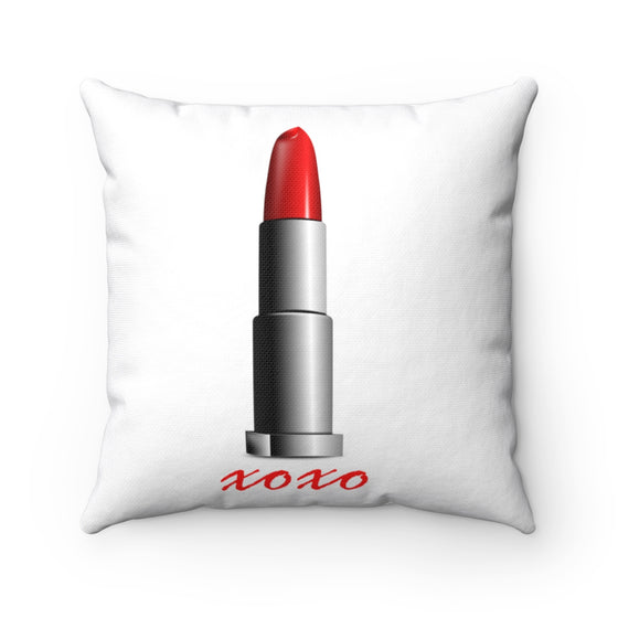 My Fabulous Style High Fashion Resting Lipstick xoxo Fashion Throw Pillow-Home Decor Throw Pillow for Women