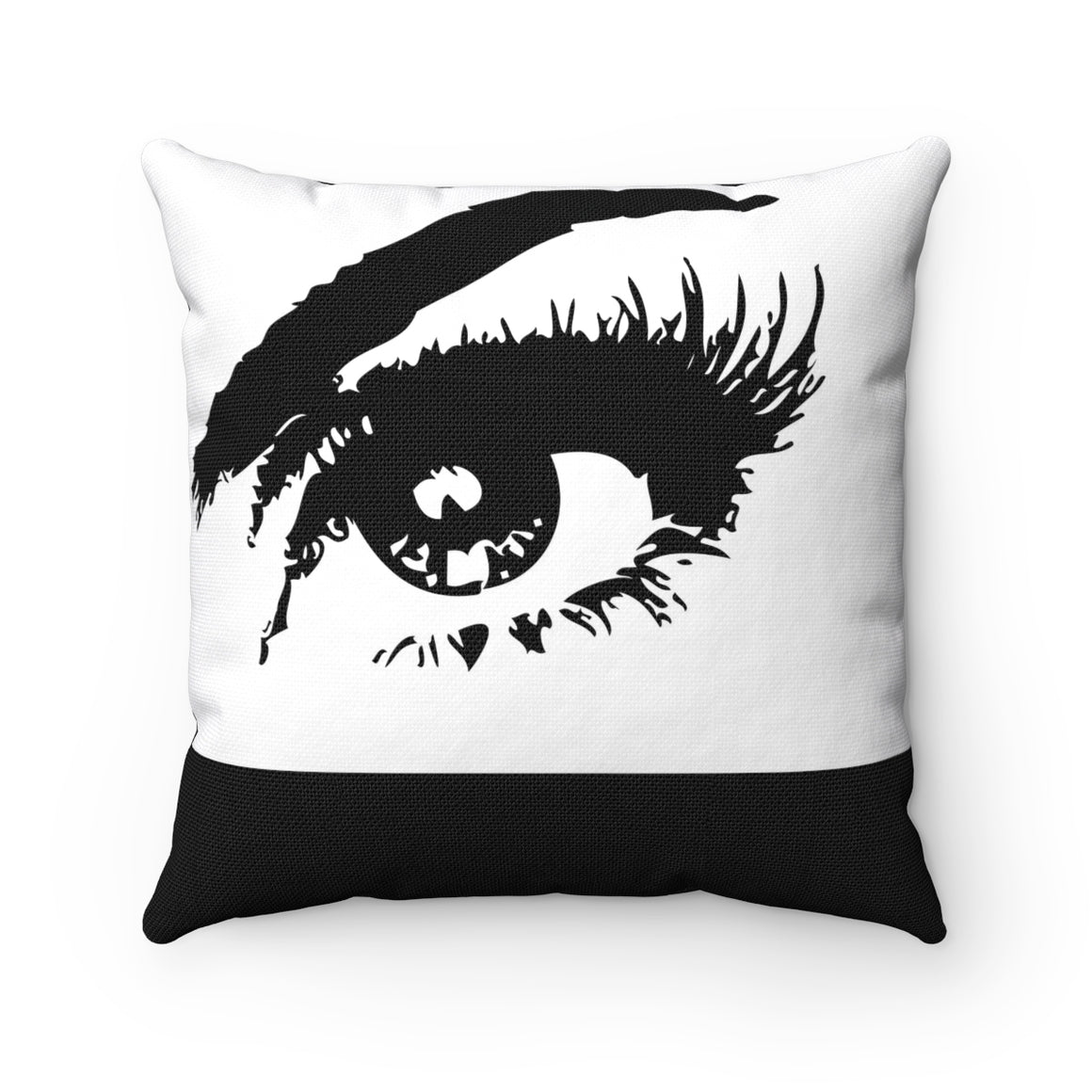 My Fabulous Style Beautiful Eye Got My Eye On You Square Throw Pillow-- Home Decor Fashion Throw Pillow
